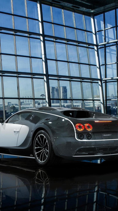 Mansory launching Bugatti Veyron Vivere in Geneva