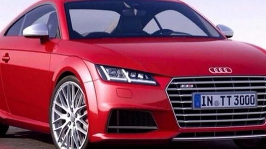 2015 Audi TT-S leaked?
