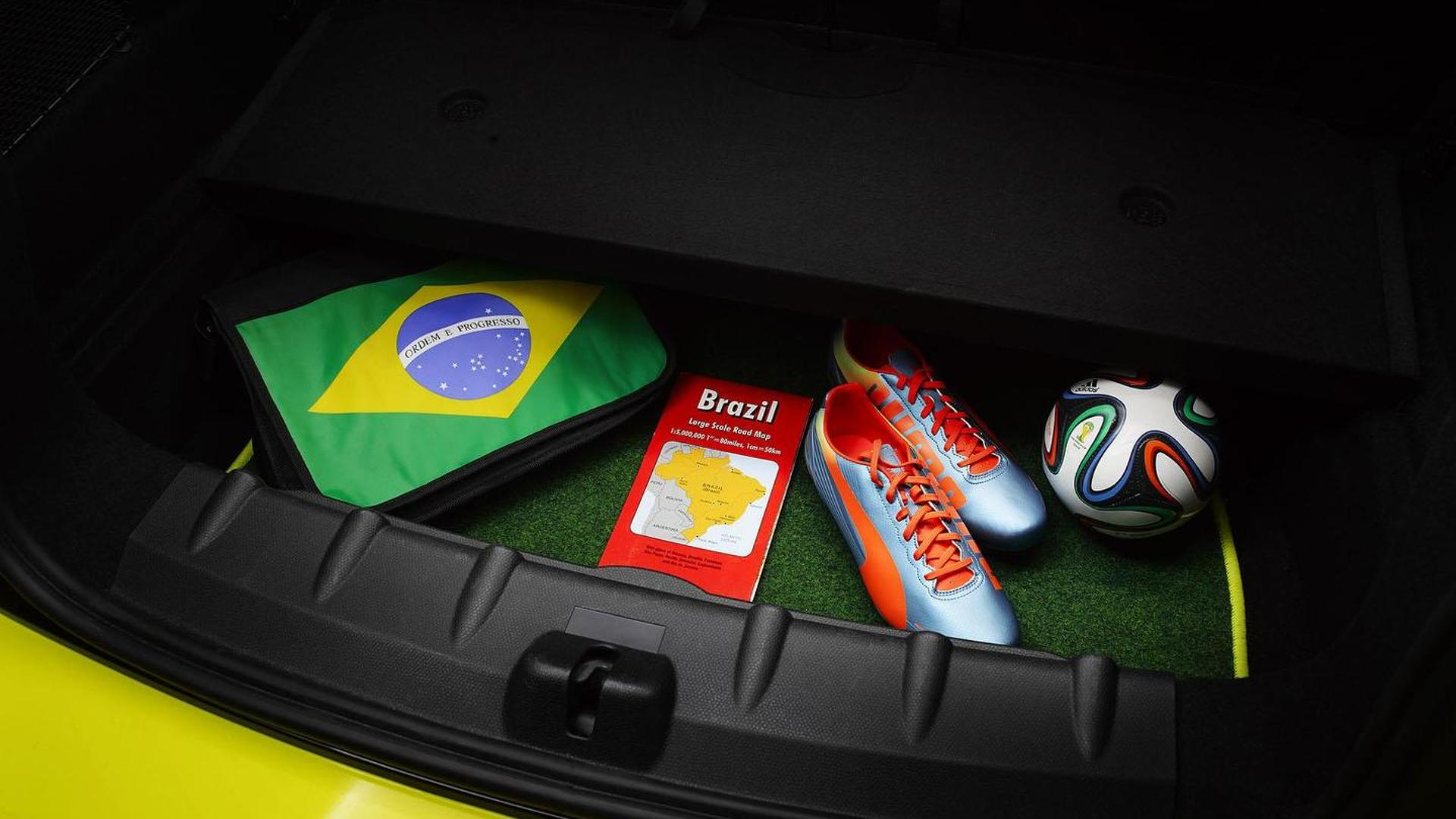 Mini Paceman Goalcooper Revealed Celebrates The World Cup