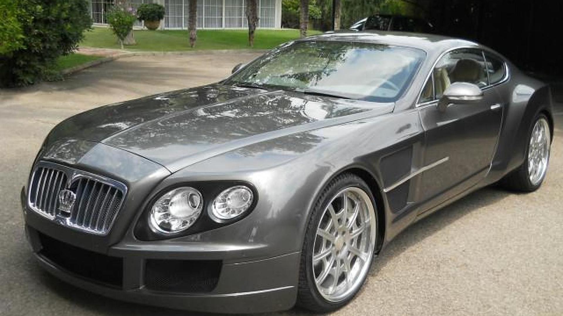 Bentley Continental Gt Allegedly Based On Rolls Royce Phantom Costs 300 000 Eur