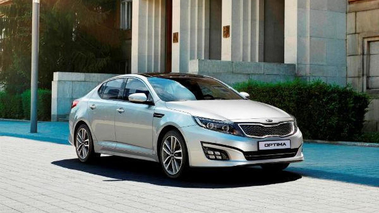 2014 Euro-spec Kia Optima facelift 16.08.2013