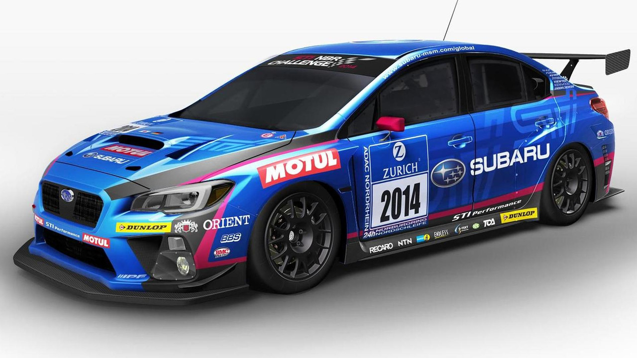 2014 Subaru WRX STI race car