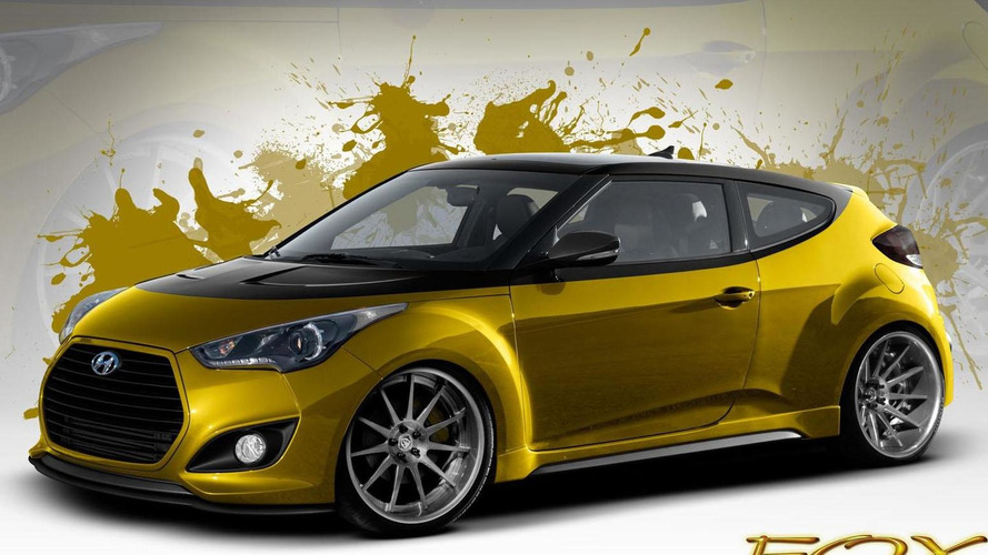 Fox Marketing Hyundai Veloster Turbo announced for SEMA