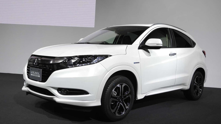 Honda Vezel hitting stateside next year, Europe in 2015