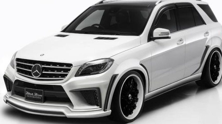 Wald previews their styling program for the Mercedes M-Class