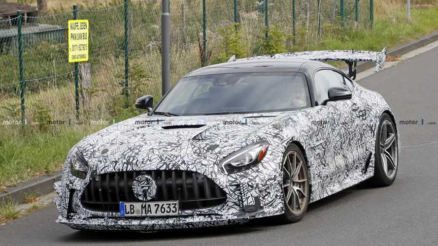 Le prototype de la Mercedes-AMG GT Black Series reçoit quelques modifications