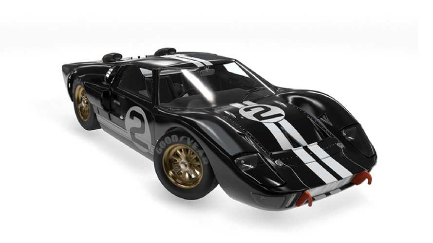 1966 Ford GT40 that won Le Mans restored - video
