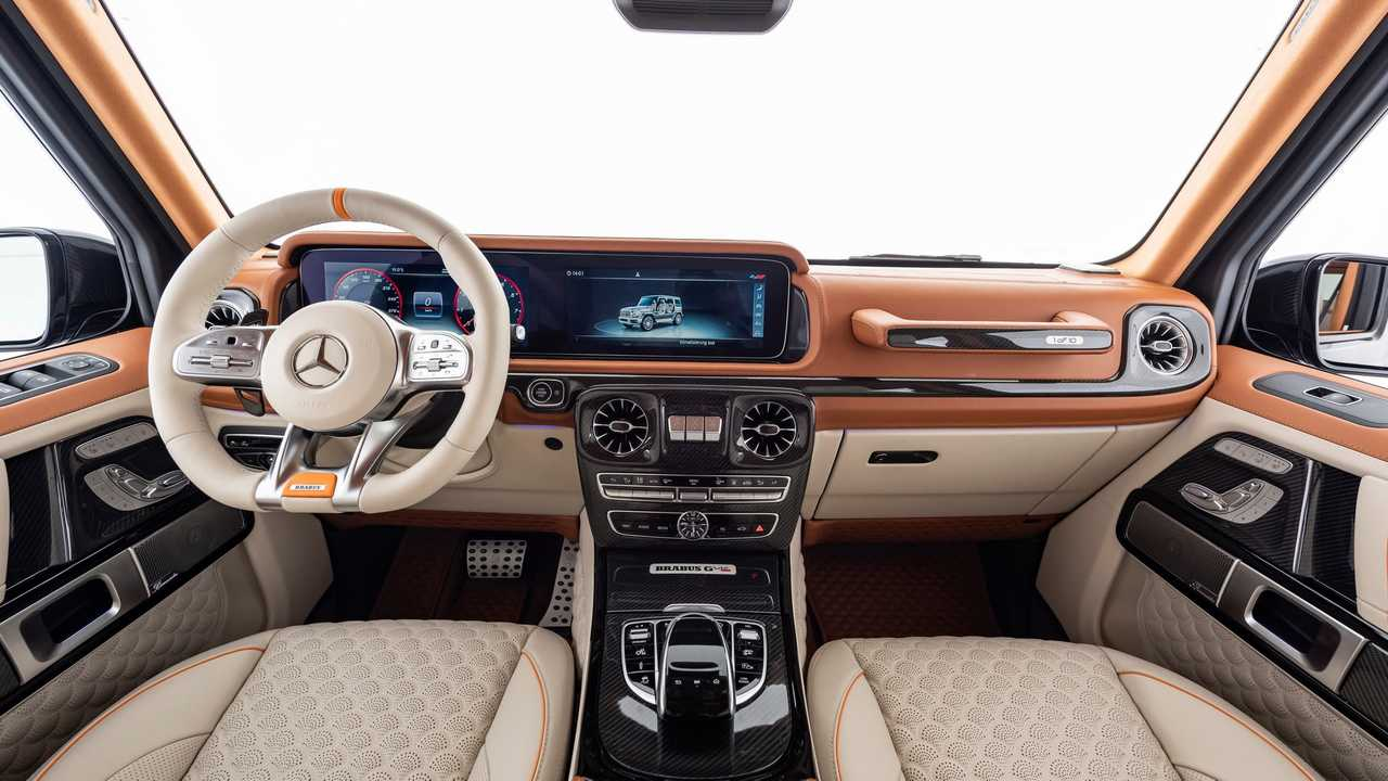 mercedes amg g class with v12 engine from brabus motor1. Black Bedroom Furniture Sets. Home Design Ideas
