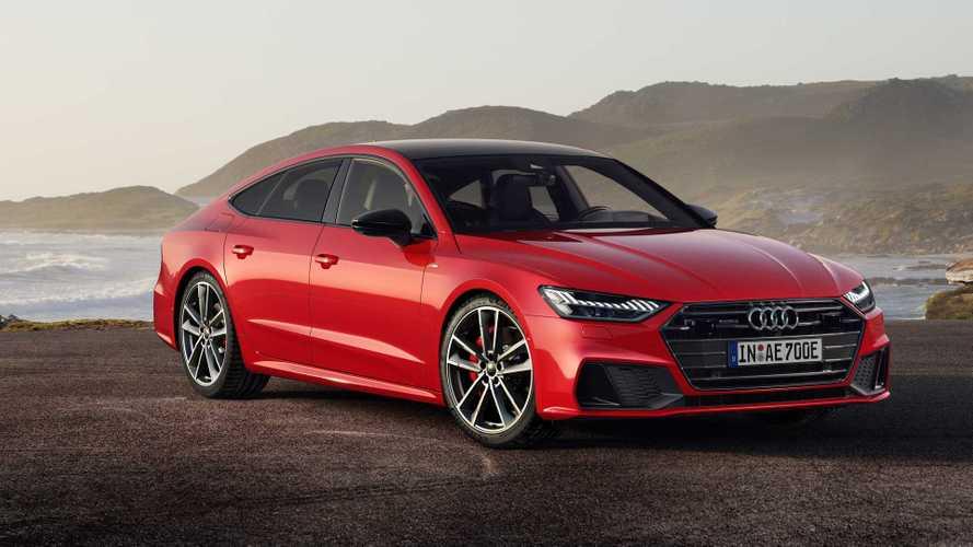 2020 Audi A7 Sportback E Quattro PHEV Debuts With 25-Mile EV Range
