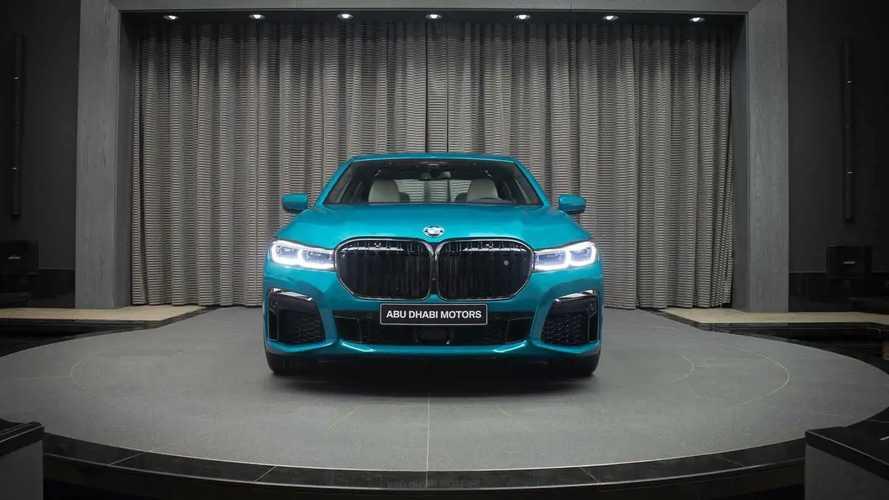 2020 BMW M760Li xDrive Atlantis Blue