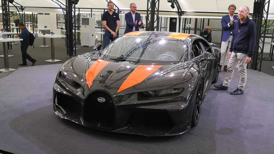 Bugatti Chiron Super Sport 300+ chega a 440 km/h e custa R$ 15,6 milhões