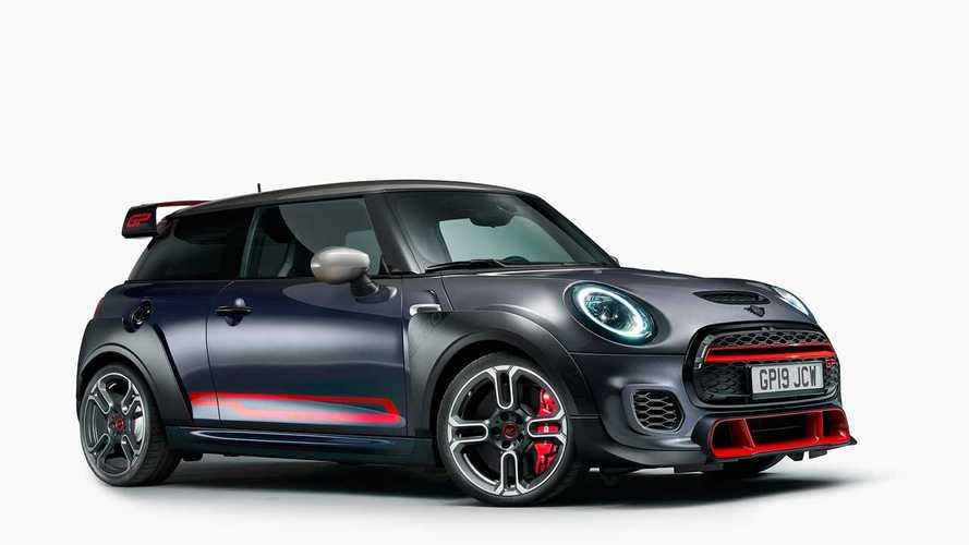 Con 306 hp el nuevo Cooper JCW GP es el Mini más potente jamás creado