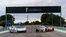 Automobili Pininfarina Battista, test a Calafat con la Mahindra Formula E