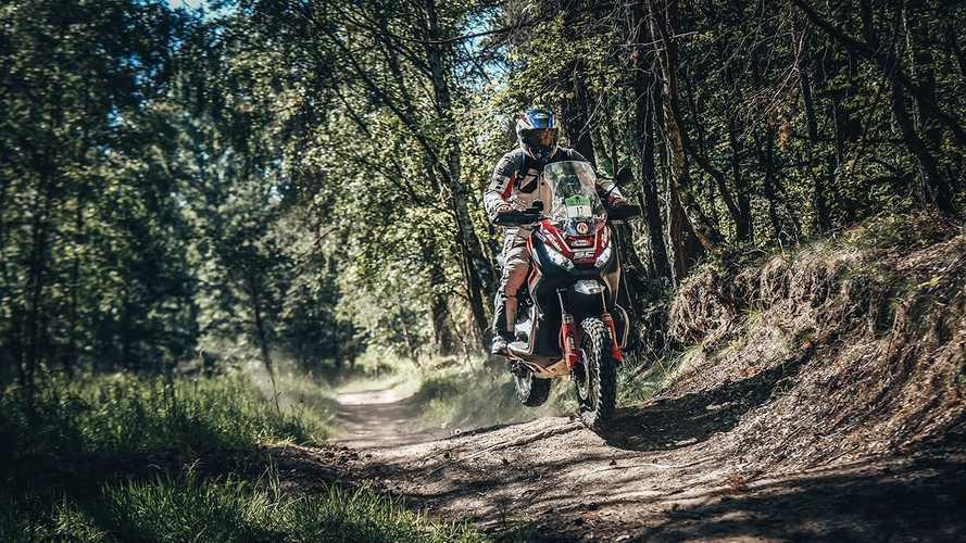 Honda X-ADV e Renato Zocchi al Transitalia Marathon 2019