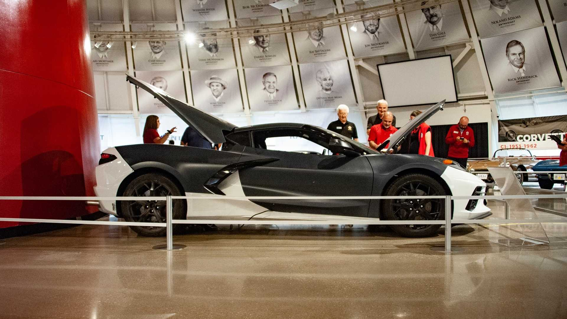 National Corvette Museum >> National Corvette Museum Takes Delivery Of C8 Prototype
