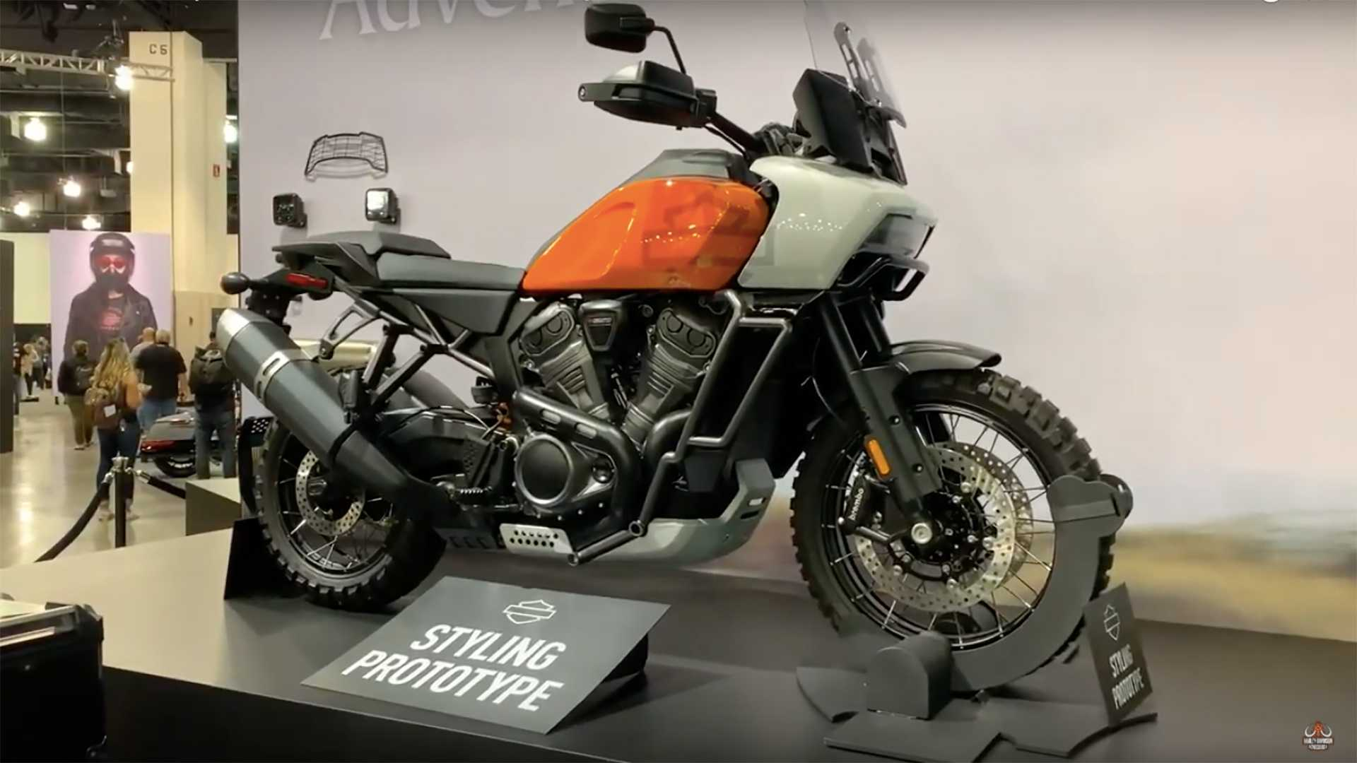 The Harley Pan America Prototype Makes A Special Appearance