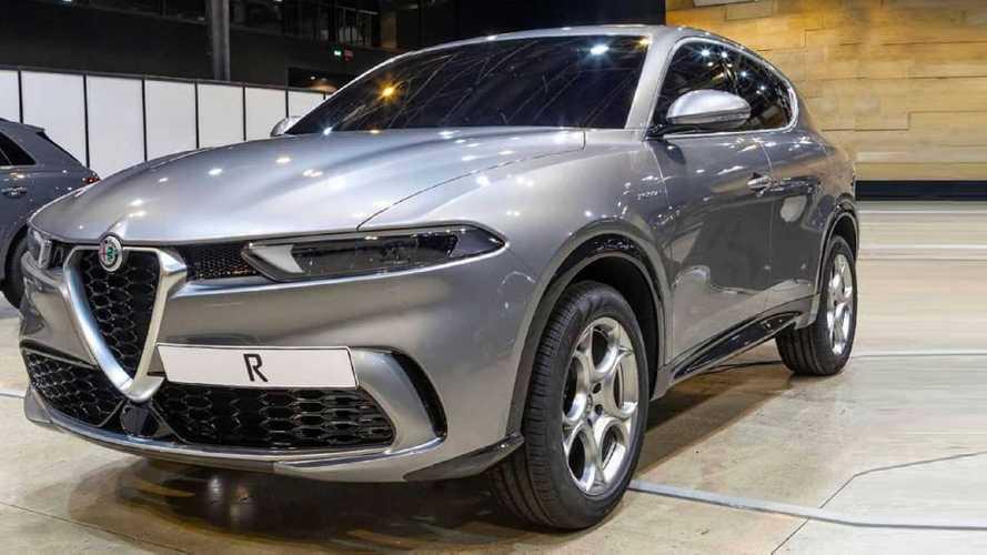 Alfa Romeo tonale 2020 fist leaked pictures