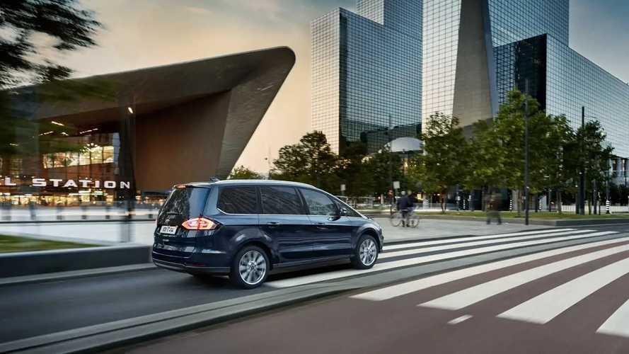 2020 Ford S-Max и Galaxy