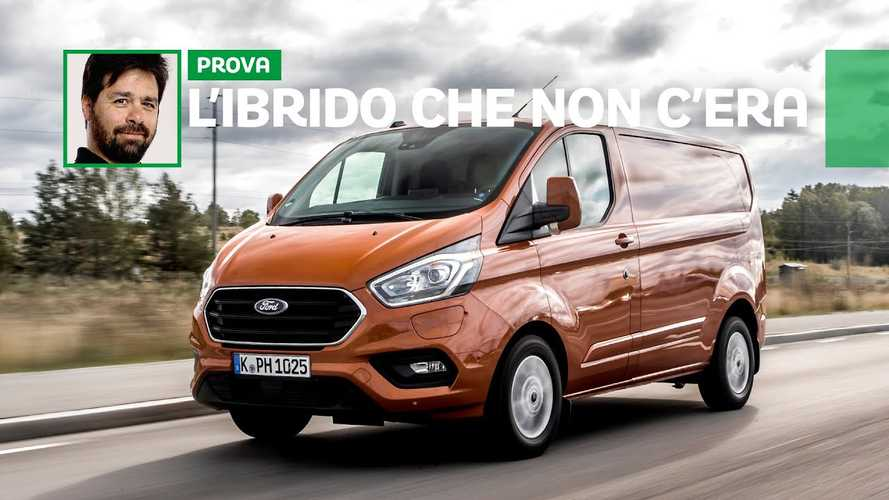 Ford Transit Custom Ibrido Plug-in, la terza via