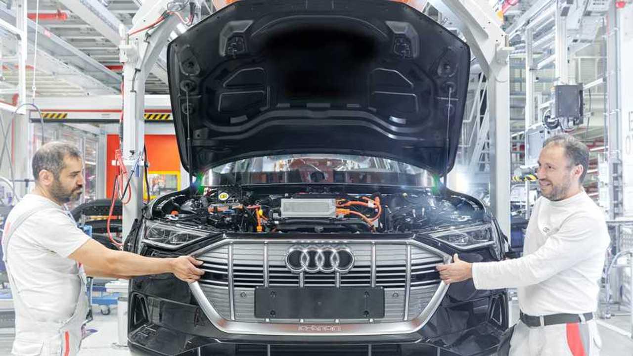 La produzione di un'Audi