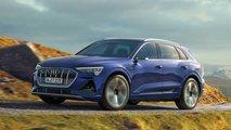Audi e-tron (2020) kriegt 25 Km mehr Reichweite und S line-Paket