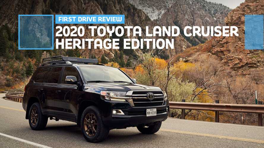 2020 Toyota Land Cruiser Heritage Edition First Drive: Soldiering On