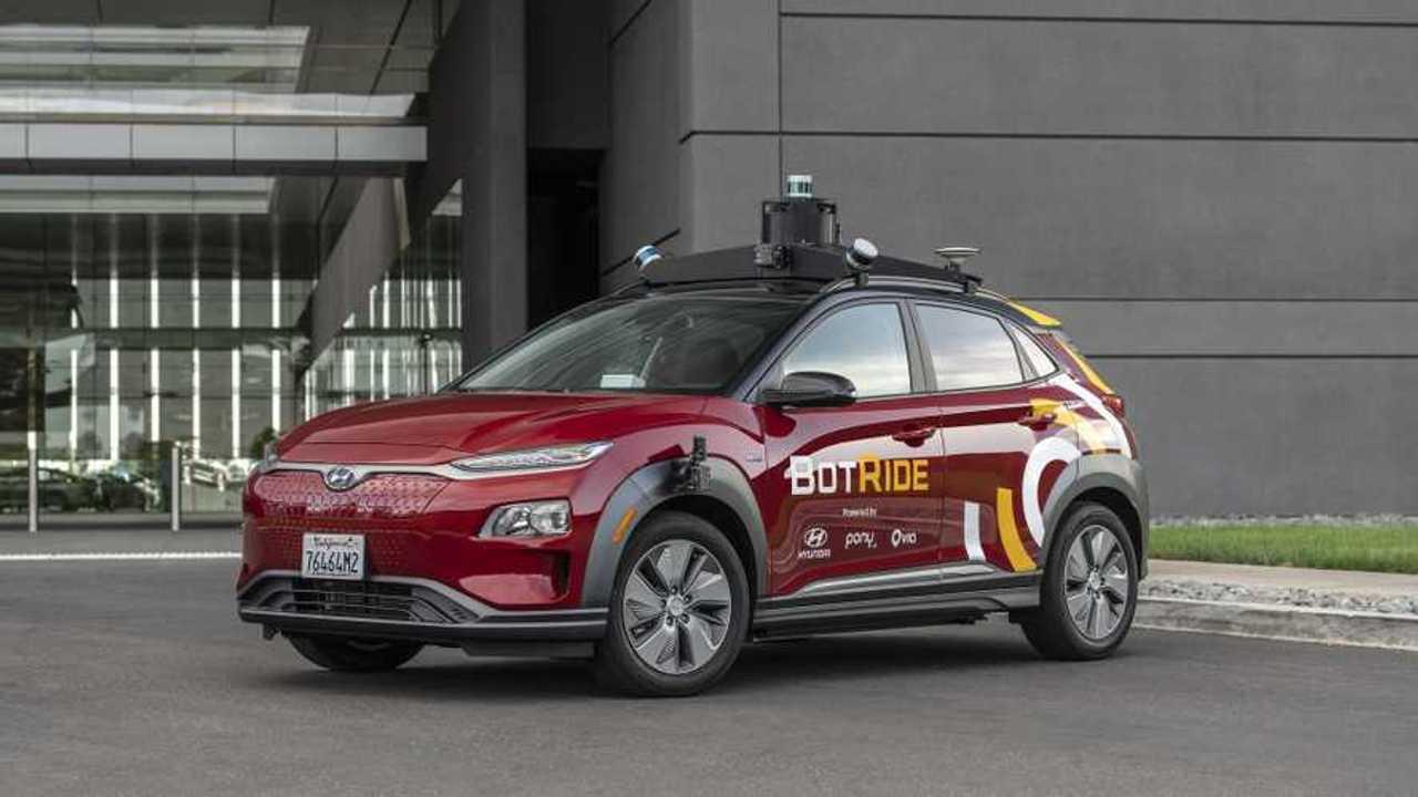 BotRide - autonoma Hyundai Kona Electric