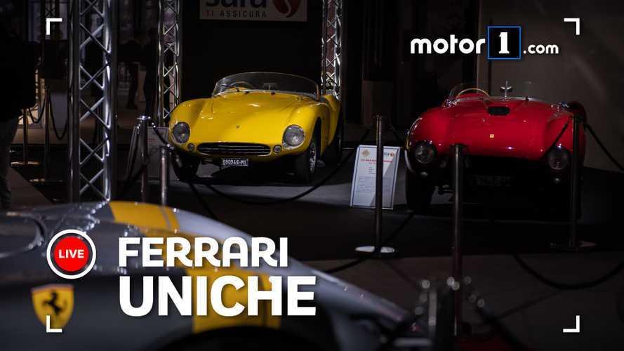 Barchette Ferrari, esemplari unici e rarissimi ad Auto e Moto d'Epoca