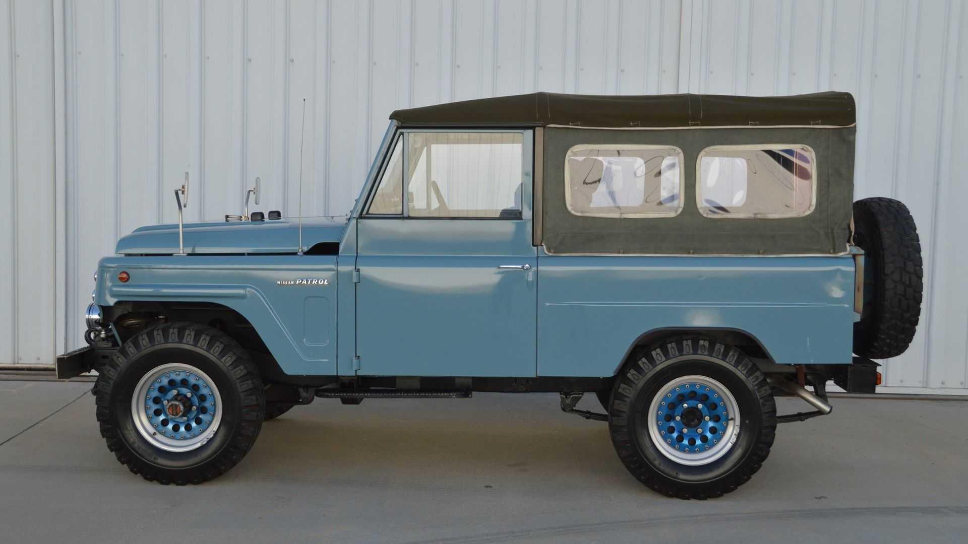 "[""Take On Adventure In A 1980 Nissan Patrol Long""]"