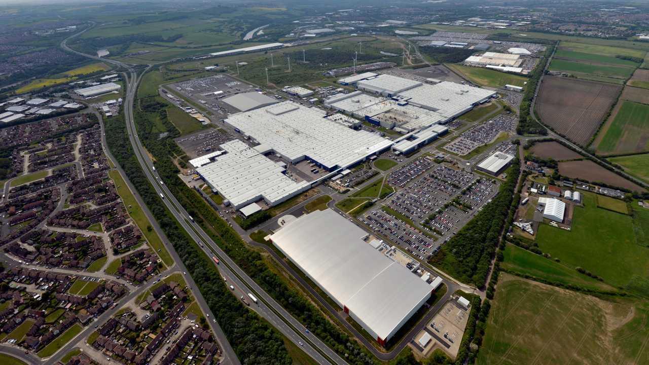 Nissan Sunderland plant UK