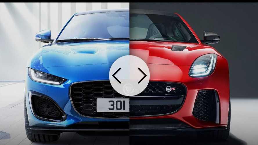 La Jaguar F-Type restylée affronte sa devancière