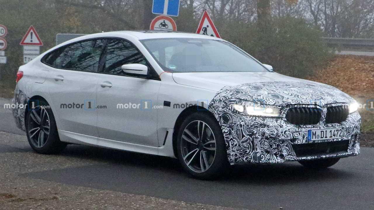 BMW 6 Series GT Facelift Spy Photos