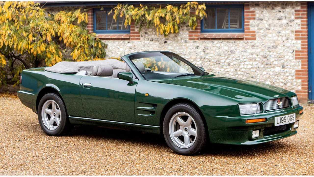 Prince Charles' 1994 Aston Martin Virage Volante Heading To Auction
