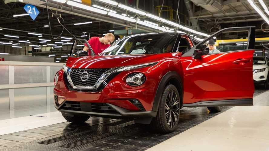 Nouvelle Nissan Juke, production à Sunderland