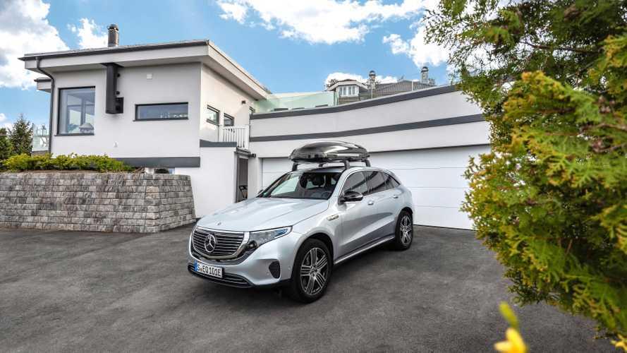 Mercedes EQC, gli accessori ufficiali