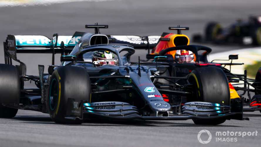 Hamilton tips Honda to set up three-way title fight in 2020