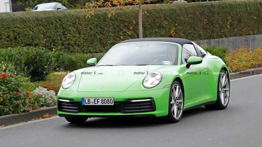 Fotos espía del nuevo Porsche 911 Targa