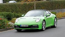 Porsche 911 Targa Spy Shots