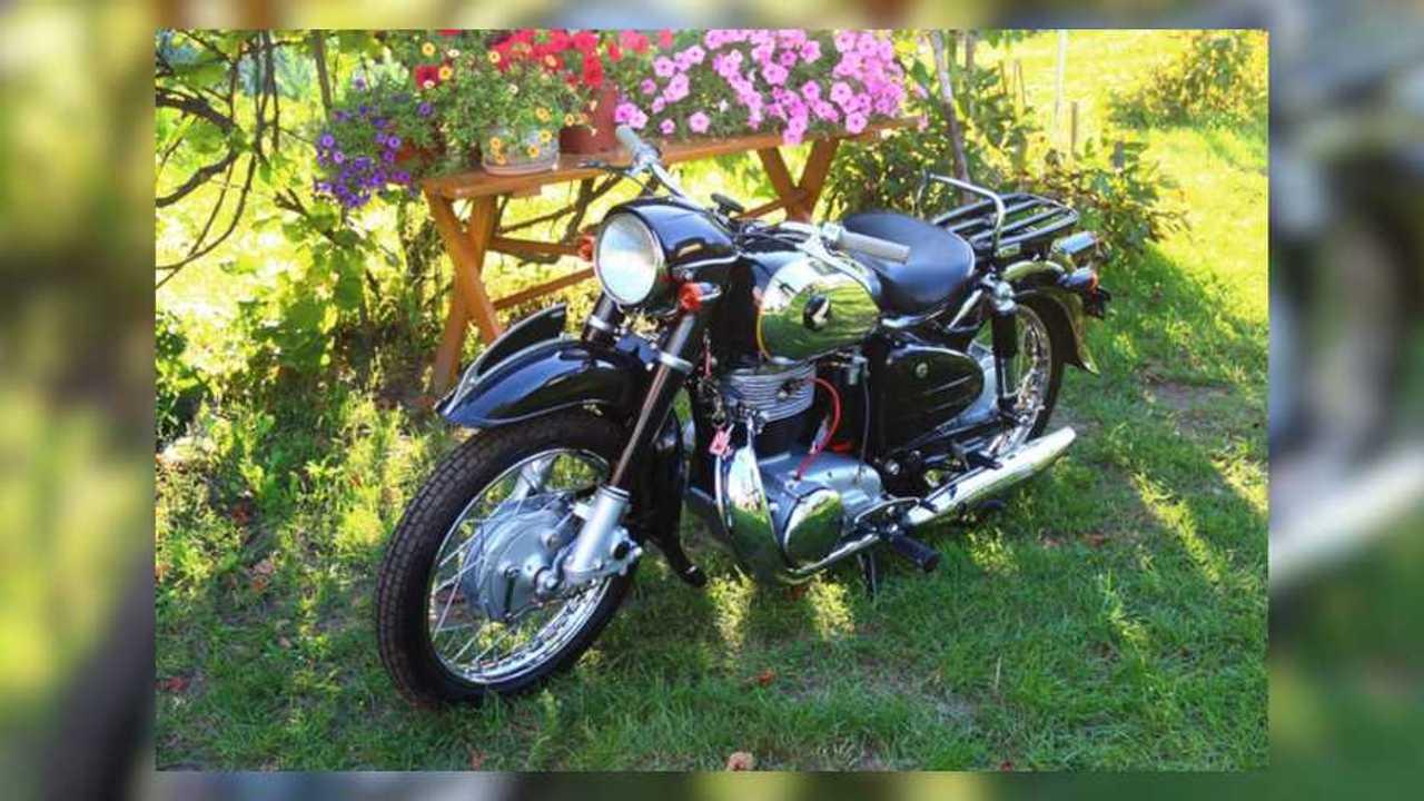 1956 Honda Dream MF350