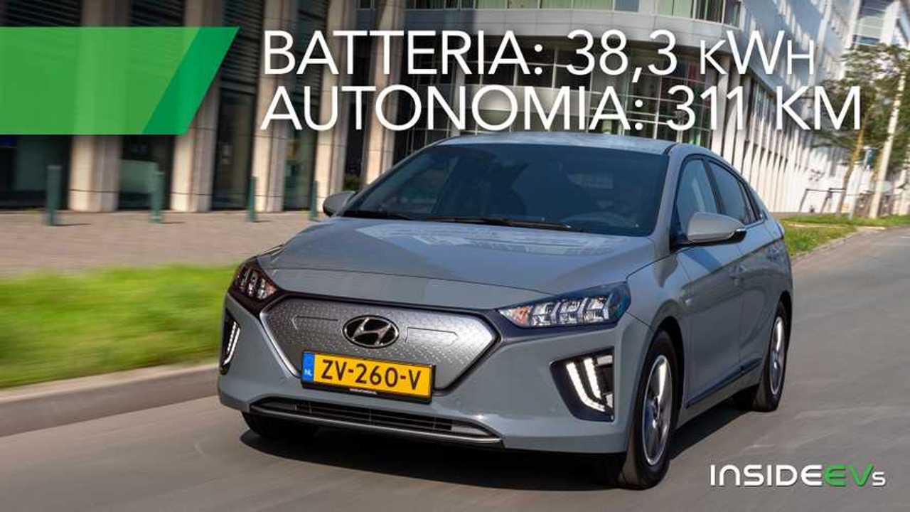 Hyundai Ioniq Electric 2019 apertura