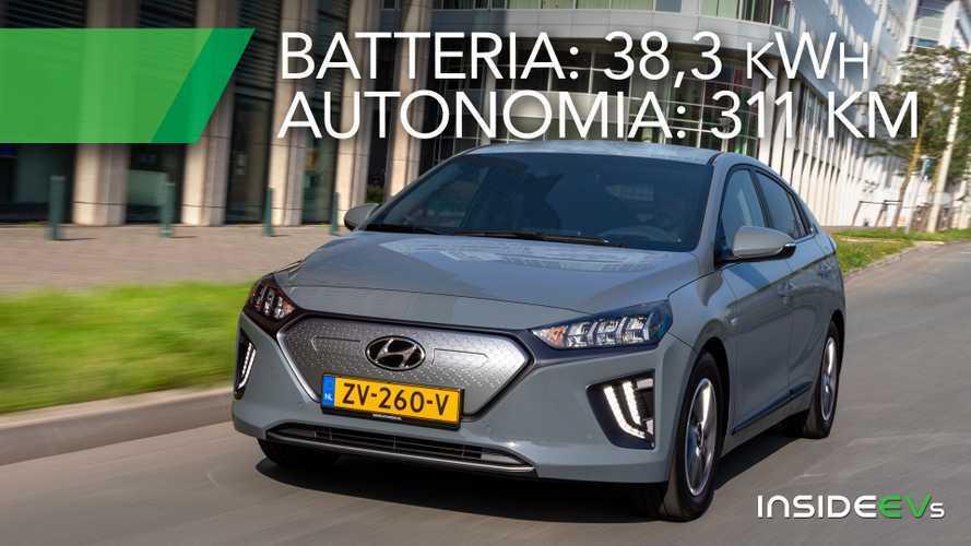 Hyundai Ioniq Electric, più potenza e autonomia
