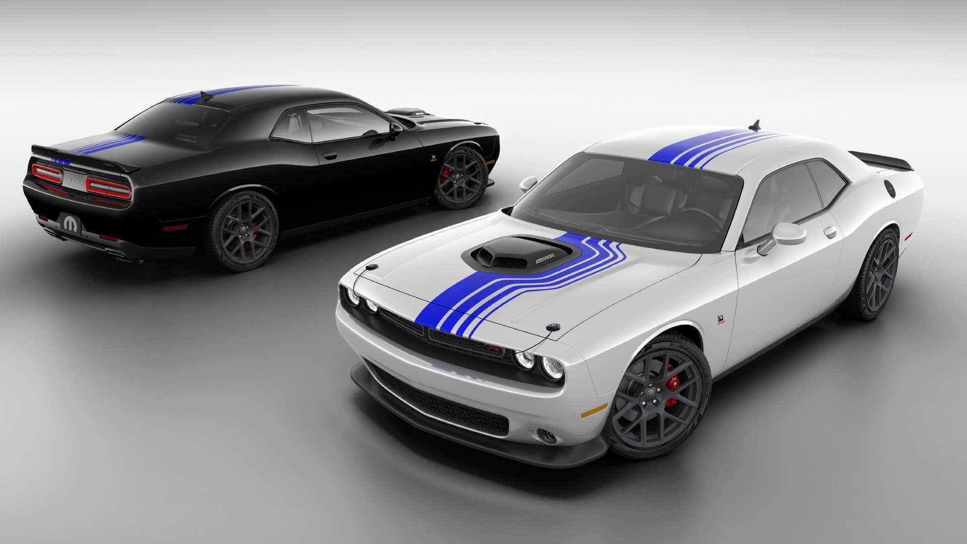 Mopar 19 Dodge Challenger Honors 10 Years Of Factory Tweaked Muscle
