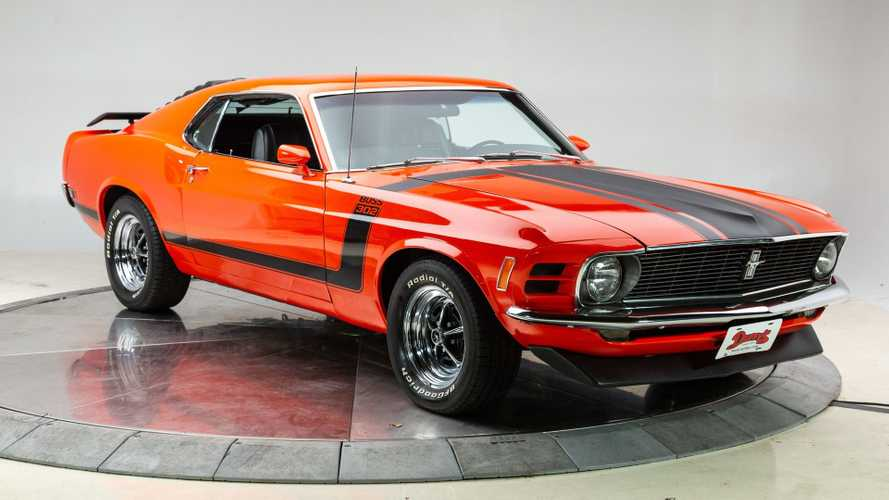 1970 Ford Mustang Boss 302 In Calypso Coral Will Wow You