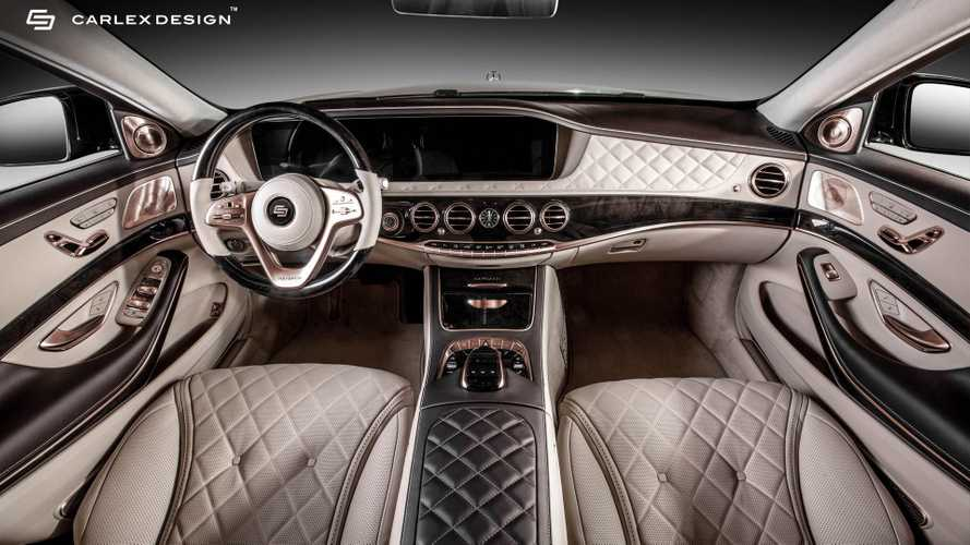 Mercedes-Maybach S 650 Aurum Edition By Carlex Sets A Gold Standard