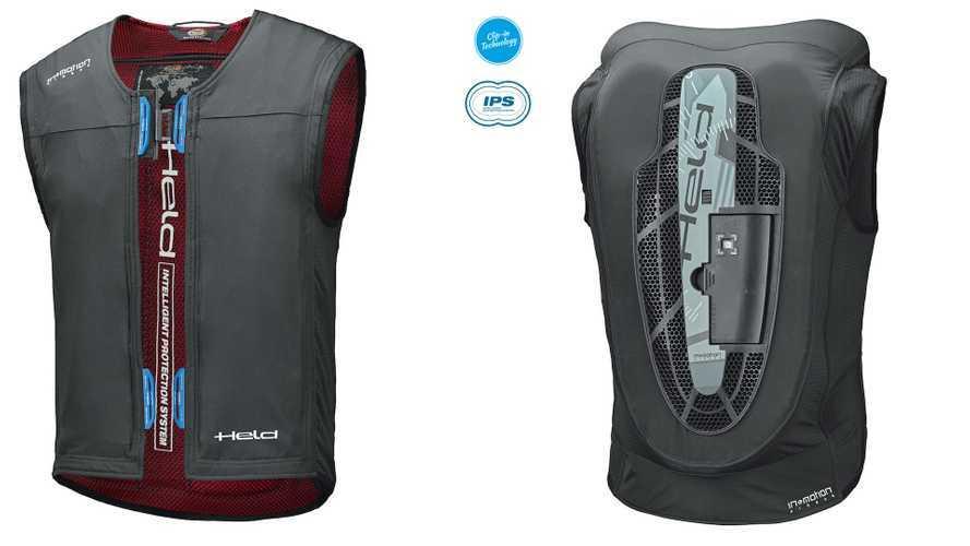 Held eVest Clip-in, il nuovo airbag del marchio tedesco