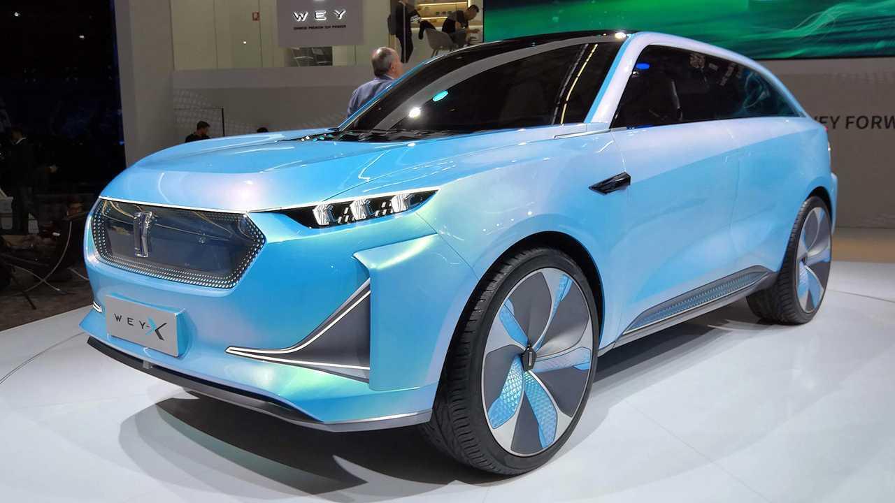 IAA 2019 - Elektroautos: Wey-X