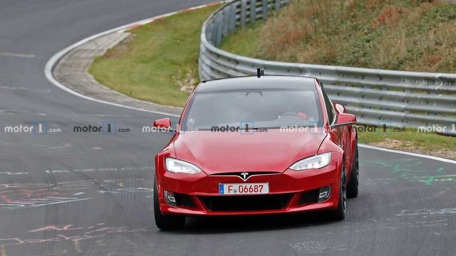 Tesla Model S Plaid zurück am Nürburgring