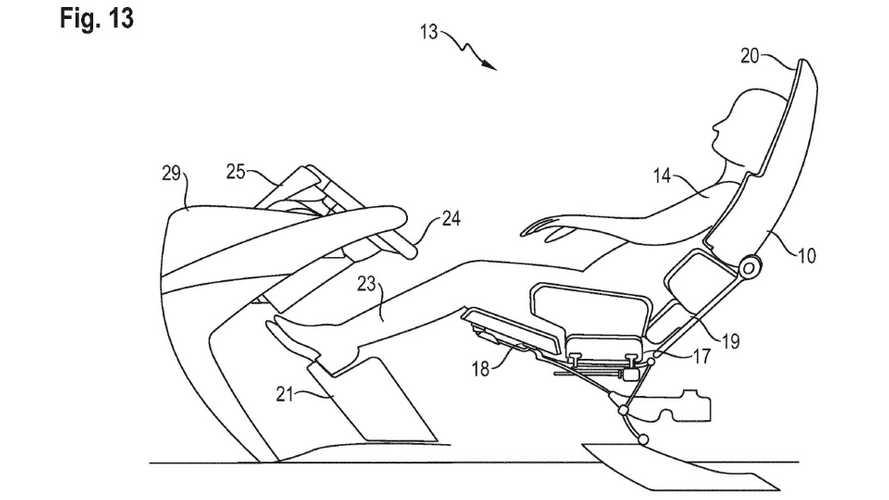 В Porsche придумали кресло, в котором водитель будет спать