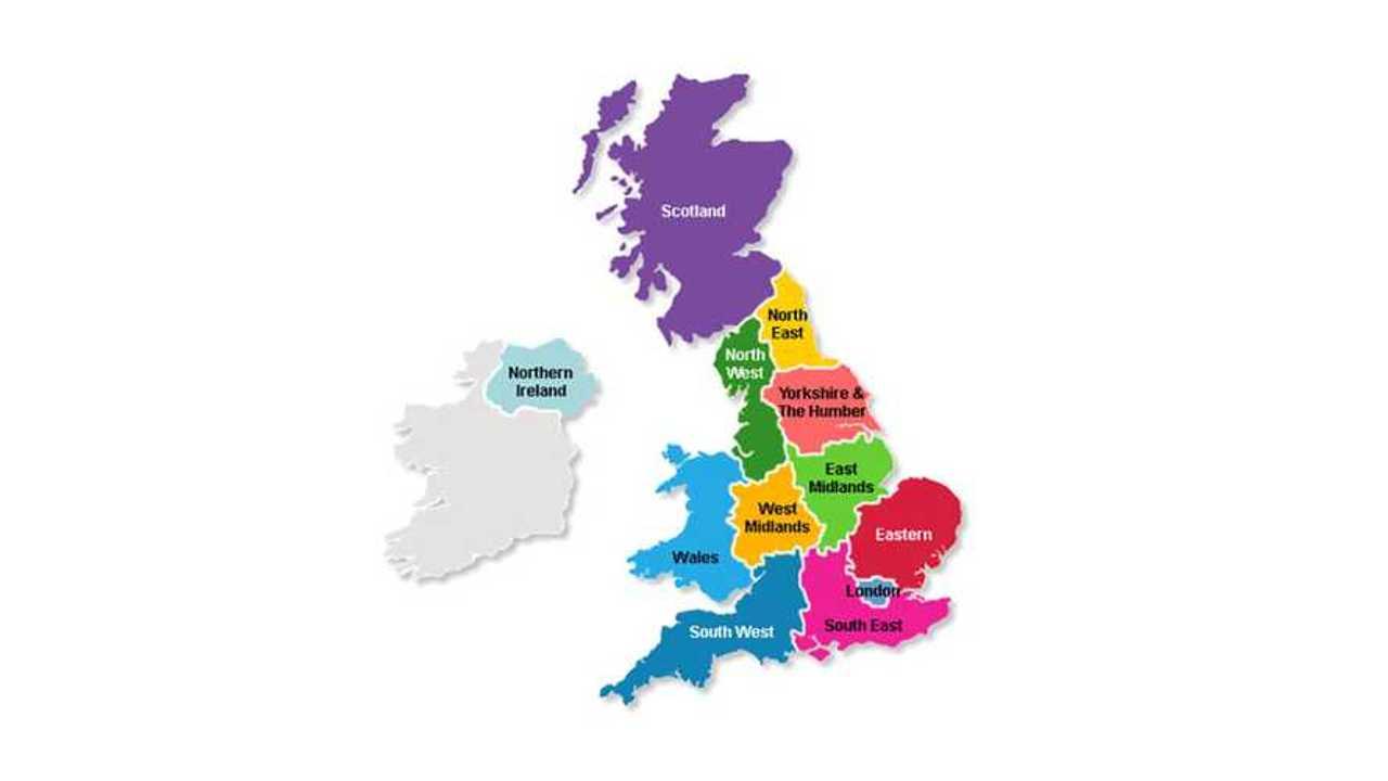 UK Bike Theft Hotspots Map