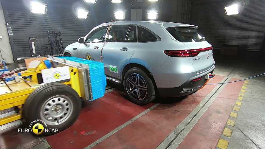 Mercedes-Benz EQC Gets 5-Star Safety Rating From Euro NCAP: Video